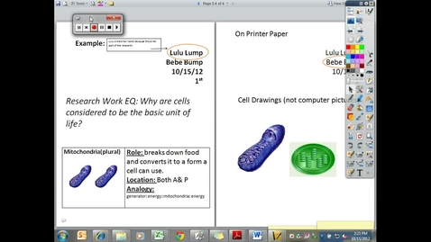 Thumbnail for entry 10_15_Research_Cell_Organelles