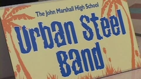 Thumbnail for entry Marshall High School Steel Drum Band - Rochester City School District