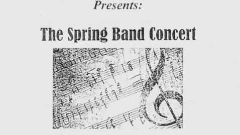 Thumbnail for entry Grand Island HS Spring Band Concert 6-5-2019