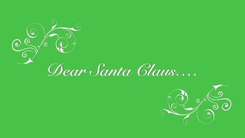 Thumbnail for entry BHBS Your Three Words: Dear Santa Claus