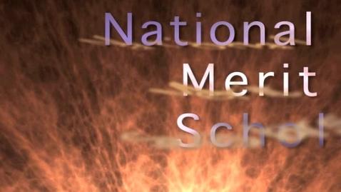 Thumbnail for entry National merit scholar
