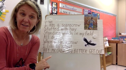 Thumbnail for entry Scarecrow Poem