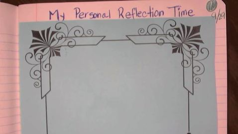 Thumbnail for entry Personal Reflection Time