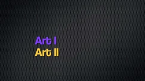 Thumbnail for entry Art I and II: 2012-2013