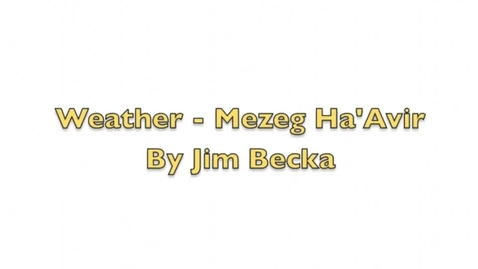 Thumbnail for entry Hebrew Language - Weather Conversation