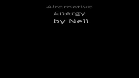 Thumbnail for entry Alternative Energy