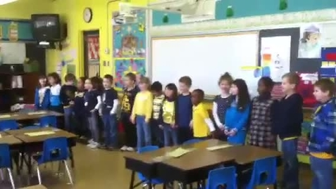 Thumbnail for entry Saint Ann KB Sings a Song to their grandparents day Catholic Schools Week 2013