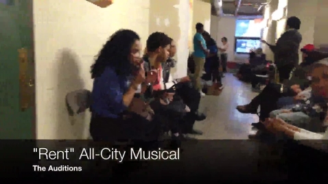 Thumbnail for entry Rent: The CMSD All-City Musical Auditions