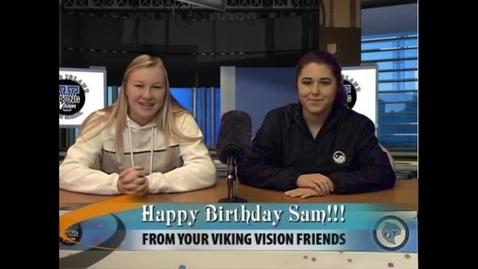 Thumbnail for entry Viking Vision News Wed 4-11-2018 #512