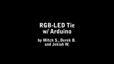 Thumbnail for entry RGB-LED Tie
