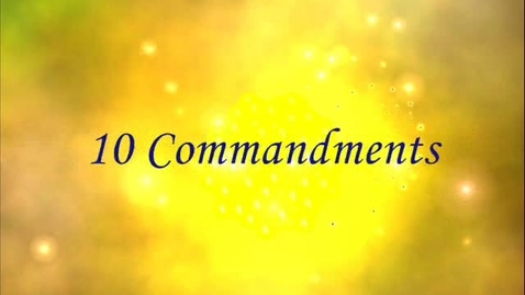 Thumbnail for entry The 10 Commandments