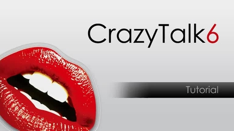 Thumbnail for entry CrazyTalk6 Tutorial - How to make an image talk (Part2)