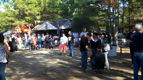 Thumbnail for entry Renaissance Festival Visit