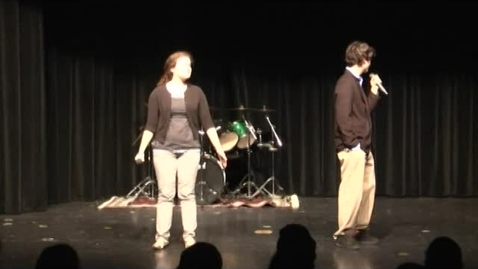 Thumbnail for entry 2012 Talent Show - High School Show - The Band Club's Performance