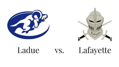 Thumbnail for entry Ladue vs Lafeyette highlight video