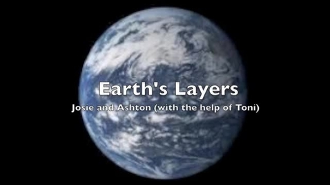 Thumbnail for entry The Layers of the Earth