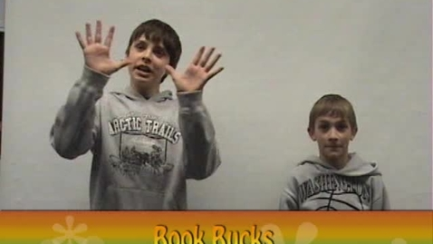 Thumbnail for entry Book Bucks Commercial