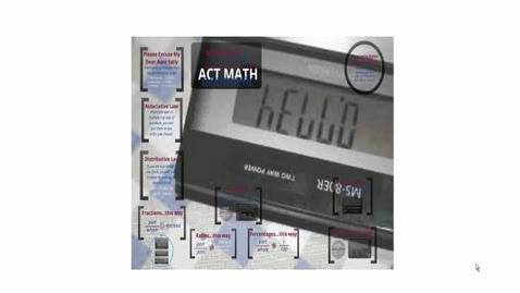 Thumbnail for entry Montrose High School - ACT Prep v. 12