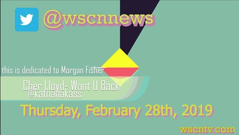 Thumbnail for entry WSCN 02.28.19 - Viewer Music Thursday