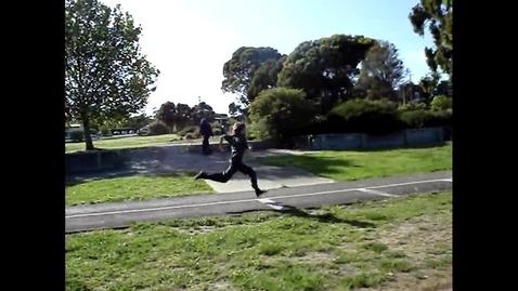 Thumbnail for entry Elijah Triple Jump