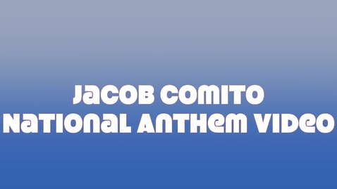 Thumbnail for entry National anthem