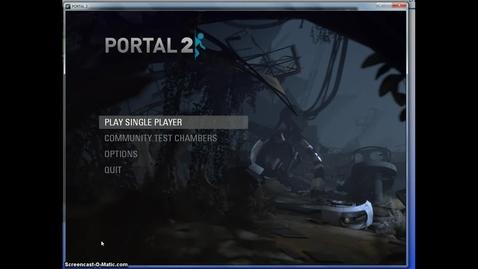 Thumbnail for entry Portal 2 Puzzle Maker Video Settings
