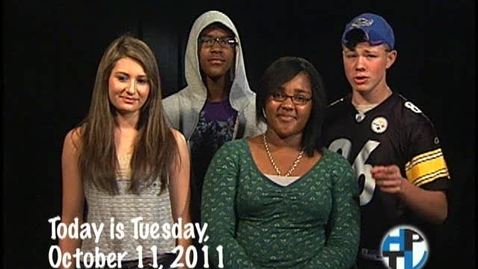 Thumbnail for entry Tuesday, October 11, 2011