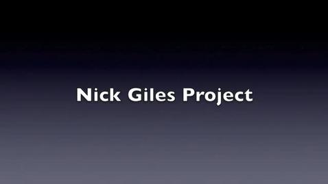 Thumbnail for entry Nick Gile