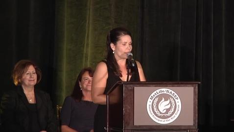 Thumbnail for entry Laurie Barron POY Award Acceptance Speech