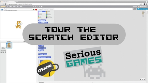 Thumbnail for entry Tour the Scratch Editor