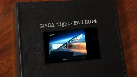Thumbnail for entry NASA Night - Fall 2014
