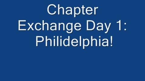 Thumbnail for entry Pontiac FFA Chapter Exchange 2014 - Philadelphia
