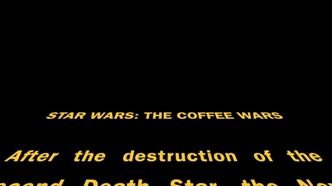 Thumbnail for entry Video Productions  Green Screening Star Wars (Better than Derek's)