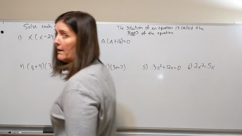 Thumbnail for entry Algebra #8 Factoring by Distribution Day 2 - Compressed