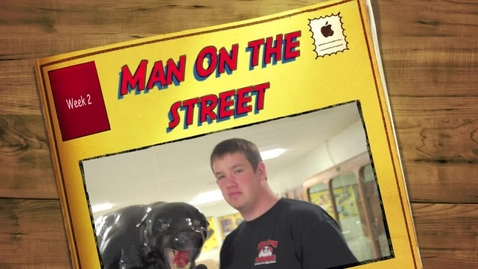 Thumbnail for entry Man on the street