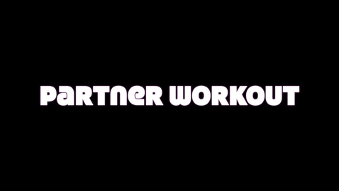 Thumbnail for entry Coach Hill's Partner Workout