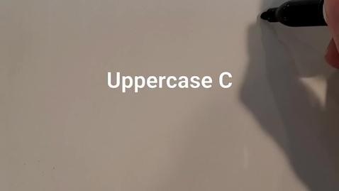 Thumbnail for entry Uppercase C