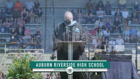 Thumbnail for entry Auburn Riverside High School Graduation 2021