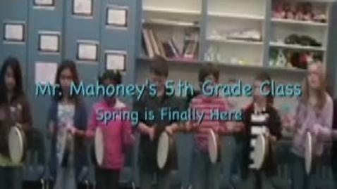 Thumbnail for entry Mr. Mahoney (5th Grade Class)