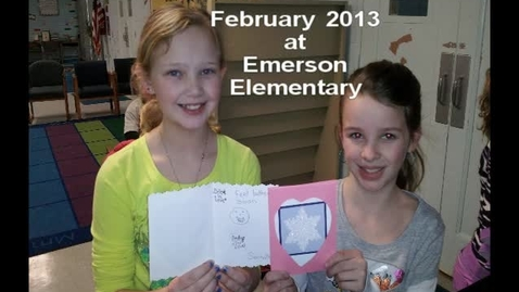 Thumbnail for entry February 2013 at Ralph Waldo Emerson Elementary School