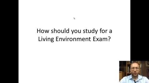 Thumbnail for entry How to study for a Biology Test