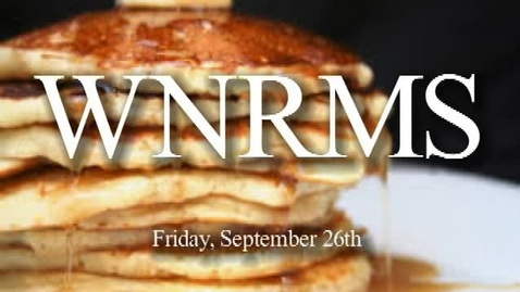 Thumbnail for entry WNRMS Morning Show 9/26/2014