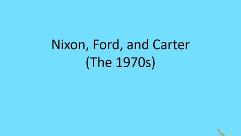 Thumbnail for entry Honors US: The 1970s, part 1 - Nixon Foreign