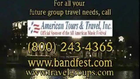 Thumbnail for entry Class Trips - Graduation Trips -Call American Tours & Travel