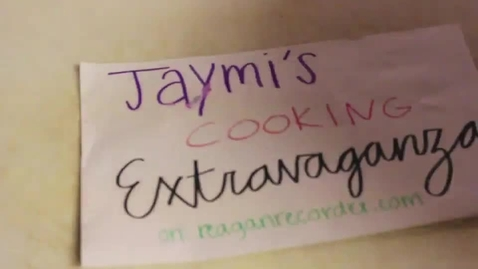 Thumbnail for entry Jaymi's Cooking Extravaganza Ep. 2