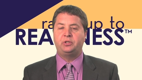 Thumbnail for entry Ramp Up to Readiness Tools: The Personal Readiness Evaluation for Postsecondary (PREP)