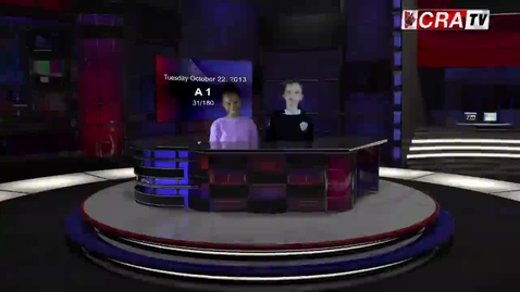 Thumbnail for entry CRA-TV Daily Broadcast - October 22, 2013
