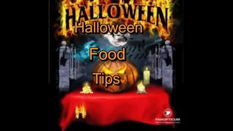 Thumbnail for entry Halloween food tips