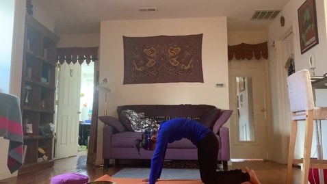 Thumbnail for entry Yoga Class with T.Sheena Week1 part B