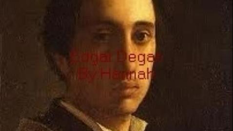 Thumbnail for entry Edgar Degas